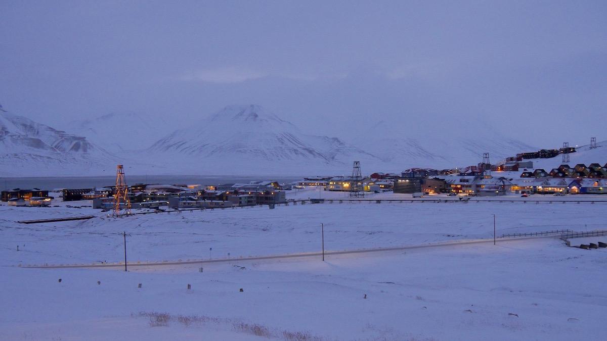 Two Treaties Svalbard Town