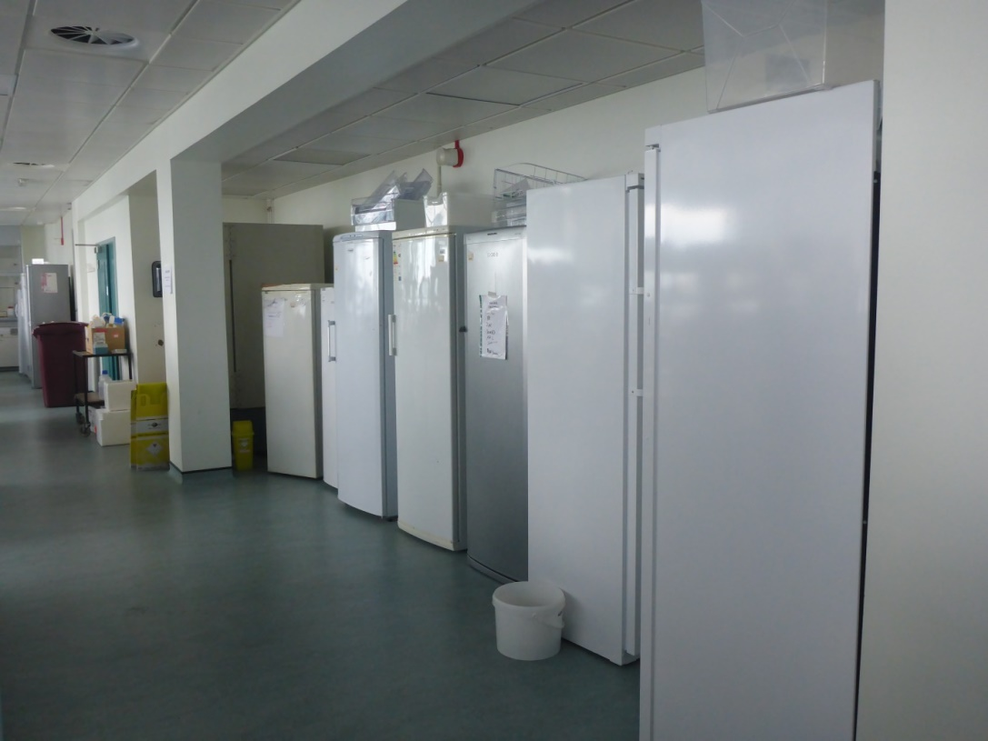 Archiving freezers
