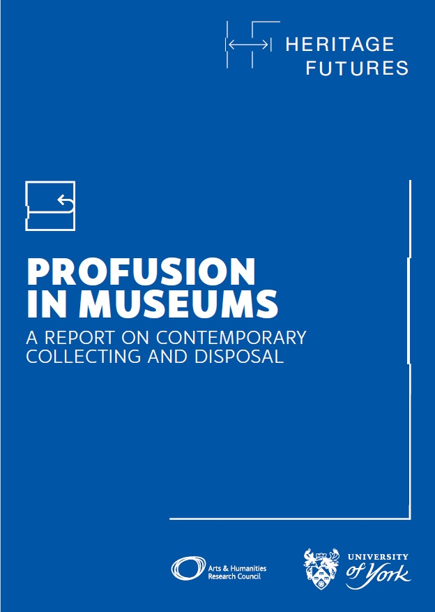 Profusion in Museums report cover